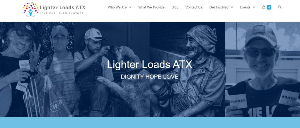 Lighter Loads ATX revamped site