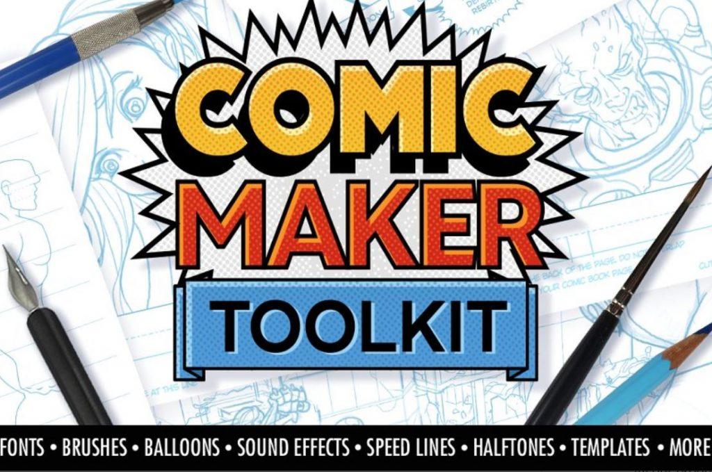 Comic Maker Toolkit Graphic