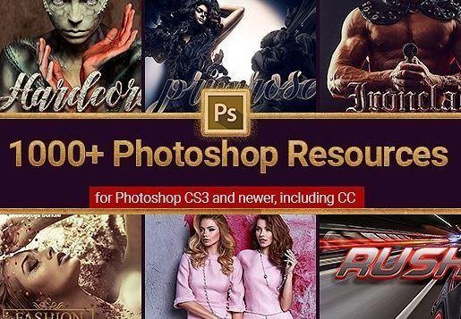 1000+ Photoshop resources