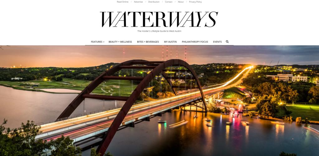 Waterways magazine website